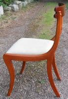 Set of Six Regency Style Mahogany Dining Chairs by William Tillman